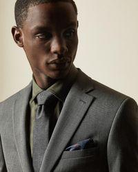 Ted Baker Plain Suit Jacket - Multicolour