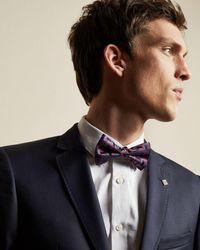 Ted Baker - Geo Print Silk Bow Tie - Lyst
