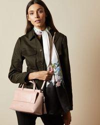 Ted Baker Leather Tassel Tote Bag - Pink