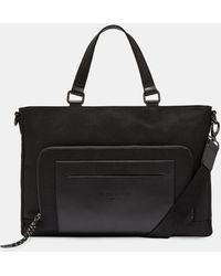 Ted Baker Nylon Document Bag - Negro