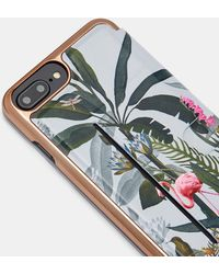 Ted Baker - Pistachio Iphone 6/7/8 Plus Book Case - Lyst