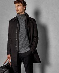Ted Baker Trench Coat - Black