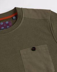 Ted Baker Pocket Detail Sweatshirt - Green