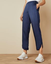 Ted Baker Contrast Trim Relaxed Joggers - Blue