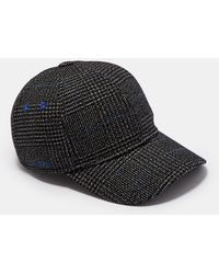 Ted Baker - Graphic Check Baseball Cap - Lyst