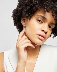 Ted Baker Crystal Heart Stud Earring - Multicolor