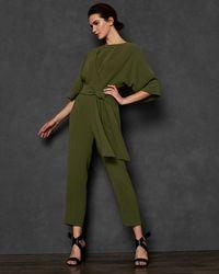 Ted Baker - Kimono Sleeve Jumpsuit - Lyst