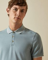 Ted Baker - Polo Textura Suave - Lyst