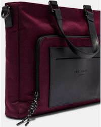 b8543a87edb80 Ted Baker Ted Bakre Jazjeff Nylon Despatch Bag in Brown for Men - Lyst
