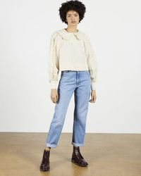 Ted Baker Frill Blouse - Multicolor