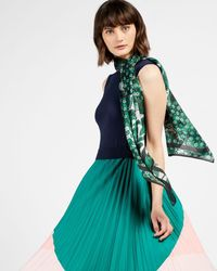 Ted Baker Rococo Long Tie Scarf - Green