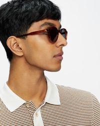 Ted Baker Gafas De Sol Redondas Retro - Marrón