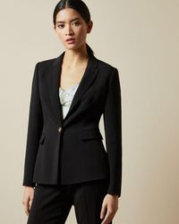 Ted Baker - Single Breasted Blazer Jacket - Lyst