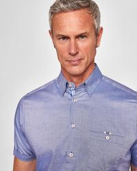 Ted Baker - Oxford Cotton Shirt - Lyst