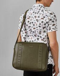 Ted Baker Pu Satchel Shoulder Bag - Green