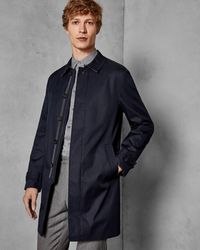 Ted Baker Trench Coat - Blue