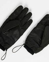 Ted Baker Padded Nylon Gloves - Black