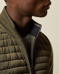 Ted Baker Quilted Jersey Gilet - Multicolor