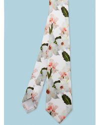 Ted Baker - Chatsworth Bloom Silk Tie - Lyst