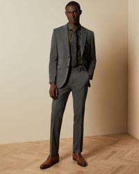 Ted Baker Schlichte Anzughose - Grau