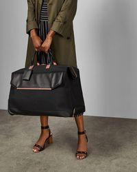Ted Baker Tbw5005 Softside Trolley Bag - Black