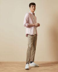 Ted Baker Linen Shirt - Pink
