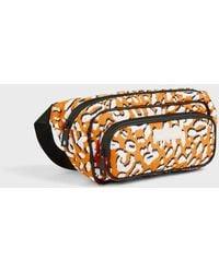 Ted Baker Leopard Detail Puffer Belt Bag - Amarillo