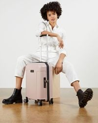Ted Baker Tbu0403-017 Flying Colours Cabin Suitcase - Pink