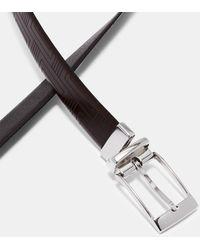 Ted Baker - Embossed Reversible Leather Belt - Lyst