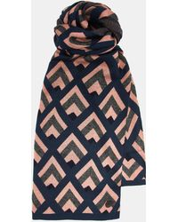 Ted Baker - Geo Knitted Scarf - Lyst