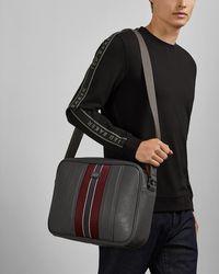 Ted Baker Charder Webbing Despatch Bag - Gray
