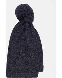 Ted Baker - Ribbed Wool Scarf - Lyst