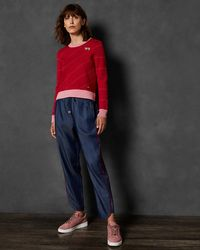 Ted Baker - Striped Jumper - Lyst