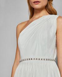 Ted Baker - Skinny Embellished Bridal Belt - Lyst