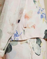 Ted Baker Elegant Jersey Pajama Top - Pink