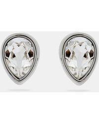 Ted Baker - Crystal Pear Drop Earrings - Lyst