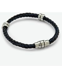 Ted Baker Two-tone Weaved Bracelet - Black
