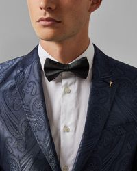 Ted Baker - Plain Silk Bow Tie - Lyst