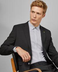Ted Baker Debonair spotted suit jacket - Negro