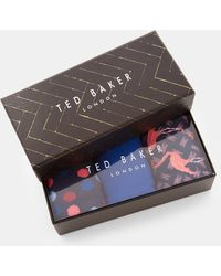 Ted Baker - Three Pack Sock Set - Lyst