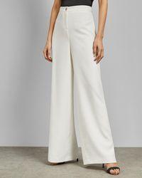 2677c1a0c Women's Ted Baker Trousers Online Sale - Lyst