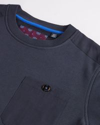 Ted Baker Pocket Detail Sweatshirt - Blue