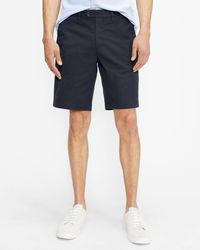 Ted Baker Cotton Chino Shorts - Blue