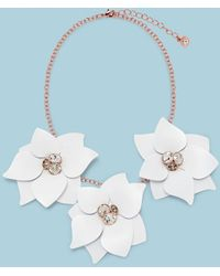 Ted Baker - Jewelled Blossom Necklace - Lyst