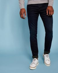 ed4f8aacce1c Ted Baker Sidbury Slim Fit Jeans in Blue for Men - Lyst