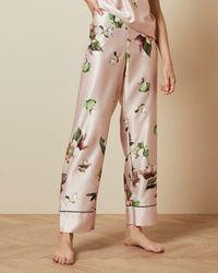 Ted Baker Arboretum Pyjama Trousers - Pink