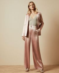 Ted Baker Satin Tailored Jacket - Pink