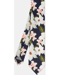 Ted Baker - Chatsworth Bloom Silk Tie - Lyst