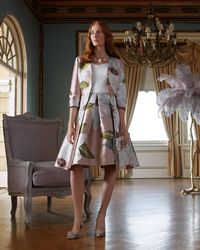 Ted Baker - Chatsworth Bloom Dress Coat - Lyst