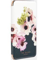 Ted Baker Neapolitan Iphone 6/7/8 Plus Book Case - White